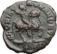 ARCADIUS on horse 383AD Rare Authentic Original Ancient Roman Coin i55917