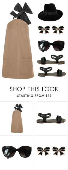 """""""Untitled #3611"""" by im-karla-with-a-k ❤ liked on Polyvore featuring Isa Arfen, Chanel, Mademoiselle Slassi, pinafores and 60secondstyle"""