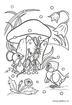 Cute Coloring Pages, Disney Coloring Pages, Adult Coloring Pages, Coloring Pages For Kids, Coloring Sheets, Coloring Books, Story Drawing, Christmas Arts And Crafts, Object Drawing