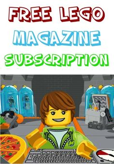 Lego Free Magazine FREE Subscription!  This makes a great little gift or fun stocking stuffer for kids!