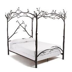 1000 images about for the home on pinterest tree bed for Buy canopy bed frame