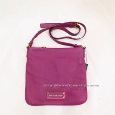 Marc by Marc Jacobs Too Hot to Handle Sia Crossbody Bag Brighter Purple Brass