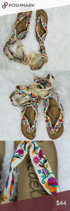 SAM EDELMAN SANDALS  (New without box) Multicolored Size 6 Sam Edelman Shoes Sandals