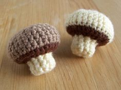 Champignons - 2012  #tuto #pattern #crochet #food