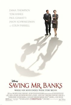 Movie poster for SAVING MR. BANKS. Click through for a full film review (3 / 5)