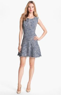 Woven fit & flare dress - cute!