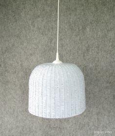 LAMPA EKO-BLUE - zapleciona - Lampy wiszące