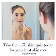 Personalized Skin Quiz!! Finally! You can see what products will benefit YOUR unique skin type! Take the willa skin quiz now, and I promise you'll LOVE the surprise that comes at the end! Only at willainfo.com. #willa #mywilla #willainfo #skincare