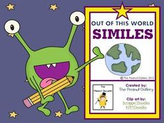 FREE! This 22 page simile unit is FREE and features fun and creative ways to involve and motivate students while teaching similes. The pages included are...