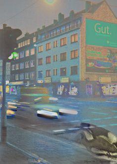 Gabriele Manholds Blog: Neon leuchtende Farbkaskaden #DigitalArt