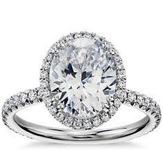 Diseñe su propio anillo de compromiso: elija una montura | Blue Nile