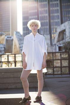 La Boutique l'Art et la Mode SPRING  Lookbook | MIH blouse, FIRMA BERLIN legging, FREDA SALVADOR shoes | STYLIST: Colton Dixon Winger | PHOTOGRAPHER: Joseph Tyler Newell | MODEL: Shay Howell