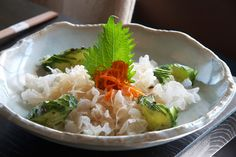 white seaweed salad at Tei An. Love this salad, I'm ruined for all other seaweed salads.