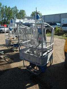 SPider St-18 cable lift: OR ONLINE AUCTION Thursday, May 2nd Byron Center Auction Repocast.com Spider model St-18 cable lift basket/ man basket with Spider model DU-1018 1.5hp winch 230V, 1000lb Capacity load unit - BANK SEIZED Auction is open to the public! For more information, call Repocast 866-550-7376 or visit Repocast.com Man Basket, Used Construction Equipment, Byron Center, Baskets For Men, Thursday, Spider, Cable, Auction, Public