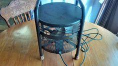 Vintage industrial metal blade ottoman fan perfect by Groovinonup, $45.00