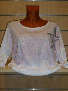 Tee-shirt blanc Peinture Carla Giannini