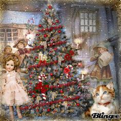 The Christmas Tree/ lot's of animated glitter deocorations click here   http://bln.gs/b/27m14i