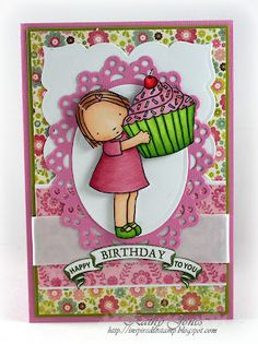 Inspired to Stamp: FS285 Happy Birthday To You