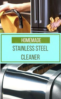 2-Ingredient Stainless Steel Cleaner ✨