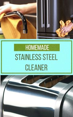 2-Ingredient Stainless Steel Cleaner ✨