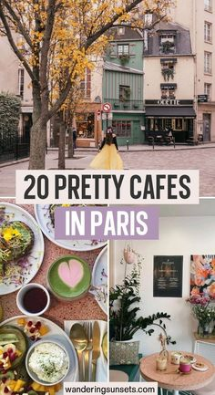 This is my list of 20 cute cafes in Paris to take beautiful photos. Don't miss these Instagrammable Parisian cafes on your next trip to Paris!