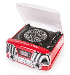 Classic Coca-Cola Vinyl ,CD ,MP3 ,USB ,SD Radio It a Hi-Fi System Big Ben and it's from 1968