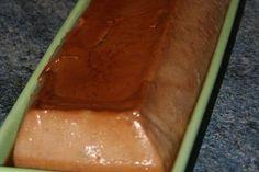 Flan à la farine de châtaigne