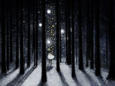Stars in the woods