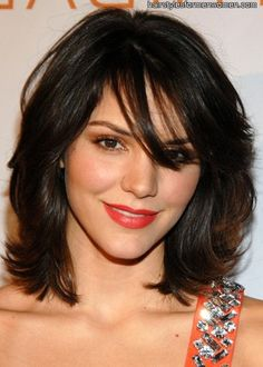 medium layered haircuts for fine hair (maybe with a little less flip though...)