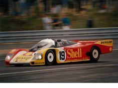 """The Andretti Special"" : Mario Andretti / Michael Andretti / John Andretti - Porsche - Porsche AG - LVI Grand Prix d'Endurance les 24 Heures du Mans - 1988 FIA World Sports-Prototype Championship, round 5 Sports Car Racing, Sport Cars, Auto Racing, Motor Sport, Nascar, 24 Hours Le Mans, Road Race Car, Le Mans Series, Porsche Motorsport"