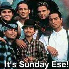 It's sunday ese!