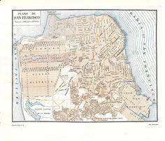 San Francisco City Plan Map
