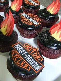 Fairytale Frosting: A Harley Davidson Birthday