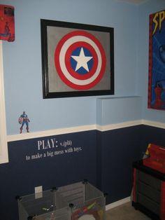 Avengers Boys Bedroom Photo Wallpaper Hulk Mural Designer