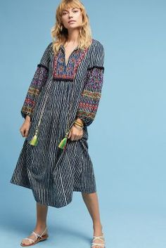 Shop the Lantern Embroidered Midi Dress and more Anthropologie at Anthropologie today. Read customer reviews, discover product details and more.