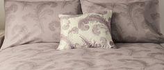 Swansbrook Amethyst Purple Cotton Mix Duvet Cover at Laura Ashley