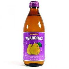 Whiteways Peardrax Sparkling Pear Drink 300ml (Trinidad)    I love Peardrax! this stuff is GREAT
