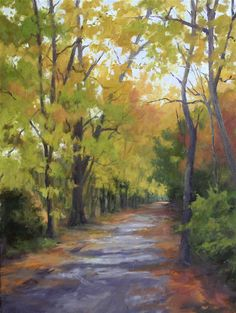 Fall Path by Beverly Ford Evans