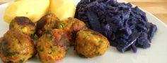 Choux rouge à la Sauce blanche & Boulettes d'Aubergine ?  2 succulentes recettes de +Myriam VieEnVegan  #vegan #sansgluten #vegetalien #govegan #Chouxrouge #sauceblanche #boulette #aubergine  http://0-gluten-vege-brest.weebly.com/vegan-sg-monde--vegan-gf-world/choux-rouge-a-la-sauce-blanche