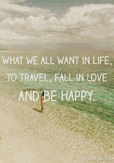 travel a lot!!!