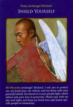 Daily Inspirational Message 1/27/2014 Shield Yourself you're especially sensitive to energies and emotions right now.  Archangel Michael is shielding you from harsh energy.  Read entire message here http://www.soulfulheartreadings.com/daily-inspirational-angel-messages/shield-yourself/