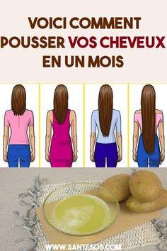 Voici comment pousser vos cheveux en un mois #cheveux #soincheveux #remede #cheveuxnaturelles #soinsnaturels