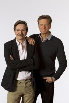 Gary Oldman and Colin Firth