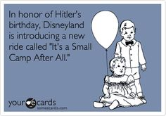 Hitler Birthday Card