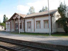 Alavuden rautatieasema, Alavus. Alavuden rautatieasema. Kuva: MV/RHO Maria Kurtén 2006