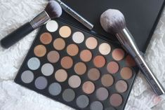 MORPHE brushes 35 k paltte review and swatches morphe eyeshadow palette reviews