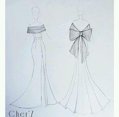Dress Design Drawing, Dress Design Sketches, Fashion Design Sketchbook, Dress Drawing, Fashion Design Drawings, Fashion Sketches, Fashion Drawing Dresses, Fashion Illustration Dresses, Fashion Drawing Tutorial