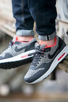 Nike Air Max 1 Leather Premium 'Polka Dot Pack' (by Worldbox) Buy from Nike US / Nike UK / End Clothing / Size? / 43einhalb / Wellgosh / Offspring / Urban Industry