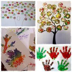 34 bricolages d'automne à faire avec les enfants  La cour des petits