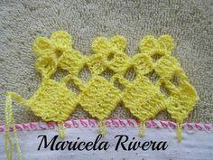 Ces points en compagnie de attache ces plus basiqu - Tricot Pontos Crochet Shirt, Crochet Gloves, Crochet Scarves, Crochet Doilies, Crochet Lace, Crochet Edging Patterns, Crochet Borders, Crochet Designs, Crochet Stitches